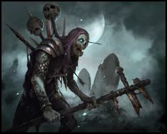 """Character concept for the project """"Dungeon Uprising""""All rights belong """"Redkeep Games"""""""