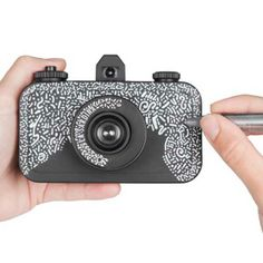 DIY is the new black with Lomography's La Sardina & Flash DIY Black! Create your own camera design! Gifts For Photographers, Lomography, Diy, Black, Design, Bricolage, Black People, Do It Yourself