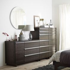 Create a stylish bedroom where you can relax and wake up refreshed with #IKEA OPPLAND bedroom furniture!