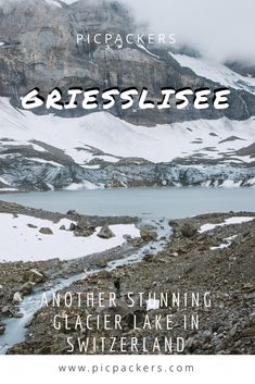 Here we write everything about hiking to the beautiful glacier lake called Griesslisee, located on the top of the stunning Klausenpass. Glacier Lake, Mountain Pass, Time Of The Year, Hiking Trails, Good Times, Switzerland, Paths, Vacations, Waterfall