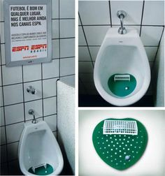 Believe it or not ... this is just one example of urinal media!