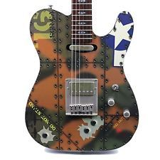 2006 SCHECTER AVIATION COLLECTION ELECTRIC GUITAR FLYING TIGER USAF FINISH