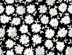 Repeating daisies. #print #daisy