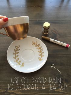 There's a lot of buzz on Pinterest forpainting dishes, but little information about the type of paint that should be used. I've seen plain sharpie projects and even spray paint projects. If...