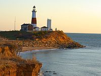 Surfers Protest Montauk Lighthouse Protection; the better thing to do is move the lighthouse away from the cliff edge, citing such lighthouses as Sankaty ,it would require completely dismantlement the lite house so it is not feasible    http://lighthouse-news.com/