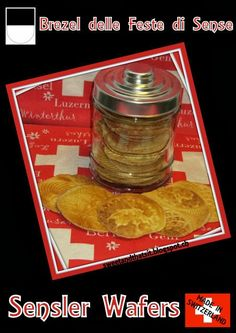 Sweet and That's it: Sensler Wafers - salty wafers made in waffle iron Love Mondays, Winterthur, Waffle Iron, Your Recipe, Waffles, Appetizers, Yummy Food, Switzerland, Sweet