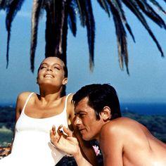 Romy & Alain Delon in La Piscine