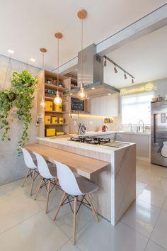 American Kitchen Interior Design, Kitchen Interior Design - Lilly is Love Kitchen Room Design, Best Kitchen Designs, Home Decor Kitchen, Interior Design Kitchen, Home Kitchens, Simple Kitchen Design, American Kitchen Interior, American Kitchen Design, Diy Kitchen Storage