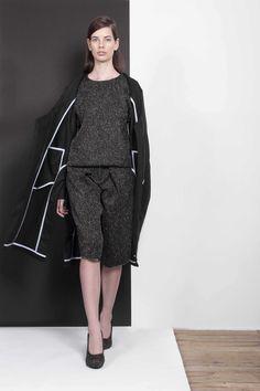 ARMANDO TAKEDA 2015-16AW LOOK24 #coat #tops #cullotepants