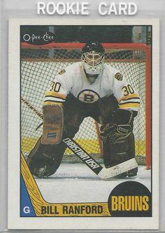 1987-88 Bill Ranford OPC RC Edmonton Oilers # 13 NM-MT