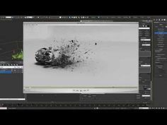 Mastering Thinking Particles - Ash Decay Destruction Tutorial - YouTube