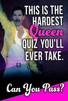 How well do you know Queen? Take this quiz to answer challenging questions about this iconic rock band and find out! Trivia Questions And Answers, This Or That Questions, Song Challenge, Challenge Accepted, Only One Lyrics, Musical Quiz, 80s Quotes, Queen Rock Band