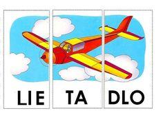 Poskladaj lietadlo Stipa, Child Development, Classroom Decor, Spelling, Montessori, Transportation, Alphabet, Homeschool, Archive
