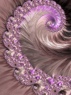 My Horrific Elegance Fractal by troythulu