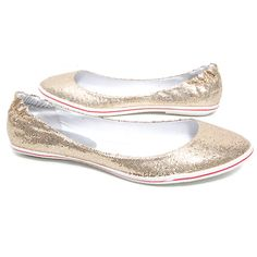 Steve Madden 'Candin' Flat (Gold Glitter) « ShoeAdd.com – More Shoes For You Every Day