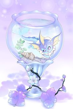 Bonsai Vaporeon by Joltik92 ...  vaporeon, pokemon