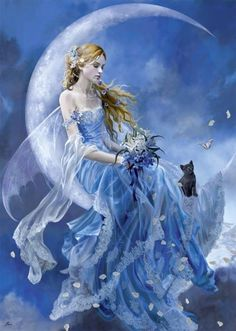Cat fairy.  GRS says:  Would love to know who the artist is, it's fantastic.