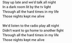 Those Nights ~ Skillet