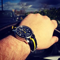 Nice Black & Yellow strap