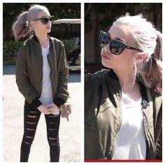 Amanda Steele's outfit