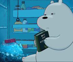 Ice Bear We Bare Bears, 3 Bears, Cute Bears, We Bare Bears Wallpapers, Panda Wallpapers, Cute Cartoon Wallpapers, Cartoon Girl Drawing, Bear Pictures, Bear Wallpaper