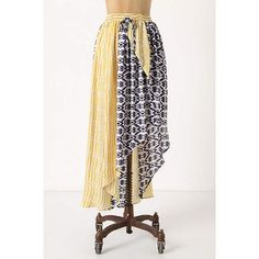 Anthropologie Skirt Faux wrap styling - asymmetrical hemline - 100% silk - excellent condition, no signs of wear NO TRADES/PP Anthropologie Skirts