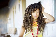 WOW!!! Valerie June! Love her locs & natural beauty. {Image:http://campus.ie/ents/music/interview-with-valerie-june}