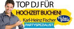 DJ Fischer Spezial Stralsund für Hochzeit Firmenfeier Geburtstag .Abipar...