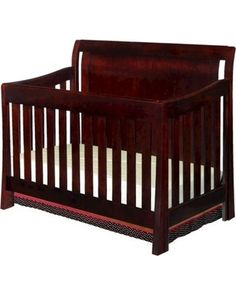 The Madisson Crib is a magnificent focal point in any nursery. This beautiful crib has a stylish design that transcends slightly curved lines into a unique crib and safe haven for your baby. The Madisson crib converts from a crib, to toddler bed, to daybed, and to a full size bed with headboard and footboard.