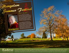 Join Lama Migmar for a summer celebration. This summer festival will focus on the healing empowerment of Vajrapani and the peaceful Jinseg (fire puja). Vajrapani practice is a powerful method for eliminating obstacles to realization on the path of awakening.