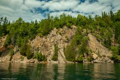 Here are 12 amazing things to see on Slate Islands, which are located 13 km off the North Shore of Lake Superior. The Slate, Lake Superior, Ontario, Islands, Planets, Things To Do, To Go, River, Adventure