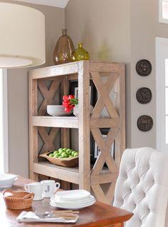 DIY Bookshelf with S