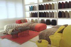 GANDIABLASCO showroom in Barcelona.  #design #diseño #gandiablasco #ganrugs #Patriciaurquiola #showrooms #barcelona #architecture #arquitectura #rugs #enjoy354days