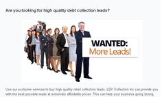 If you have any issues of Debt Collection, visit lskcollection.com today with your issues and get best ways to solve your debt collection issues.