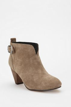 UrbanOutfitters.com > Ecote Suede Ankle Bootie