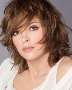 Cascade short hairstyles for fine hair