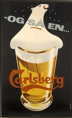 Beer - Carlsberg - Old Advertising