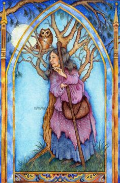 Divination and Oracles ☽ Navigating the Mystery ☽ The Watcher (Suit Of Mirrors) by Holly Sierra