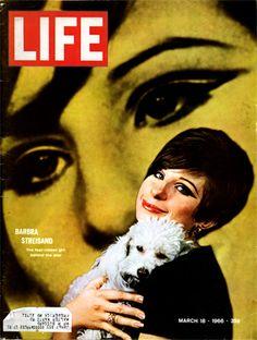 Life Magazine, March 18, 1966: Barbra Streisand.