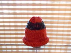 Adult loom knitted winter hat by SecChnceTreasure on Etsy, $10.00