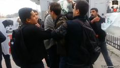 """""""Yankee, go home!"""" - """"US Sailors Attacked in Istanbul"""" by Matthew Hilburn"""