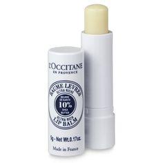 L'Occitane Shea Butter Lip Balm Stick Shea Butter Lip Balm, Love Lips, Cosmetic Design, Makeup Essentials, Lip Care, Makeup Forever, Organic Skin Care, The Balm, Lotion