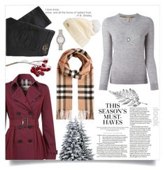 """Brrrrr! Winter Blizzard"" by orietta-rose ❤ liked on Polyvore featuring H&M, Burberry, Vivienne Westwood Anglomania, Armenta and blizzard"