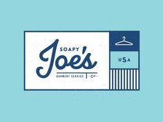 soapy joe's logo design #identity