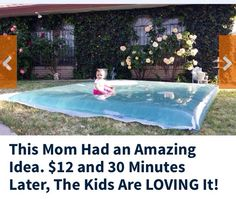 ☀️ Amazing Trick: This Would Make Your Kids Go Bonkers In The Summer☀️