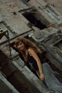 Darya @Dalika #style #fashion #street #abandoned #ruins #urban #cute #gyal