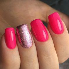 pink manicure #pink #manicure #nails #fashion #nailart #gelnails #instagood #nail #photooftheday #naildesign #pretty #gelpolish #nailswag #nailpolish #style #nailsoftheday #gel Coral Toe Nails, Pink Shellac, Pink Manicure, Shellac Nails, Red Nails, Swag Nails, Shellac Nail Designs, Pink Nail Designs, Glittery Acrylic Nails