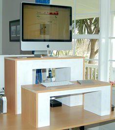 Stand Up Desktops: Working Prototype Standing Desk Model 1