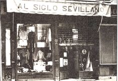 Sevilla, Eterna Primavera.: Comercios con sabor. Shop Fronts, My Dream, 1970s, Antiques, Pictures, Seville Spain, Childhood Memories, B W Photos, Antique Photos