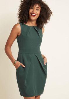 #ModCloth - #ModCloth Office Topic Sheath Dress in L - AdoreWe.com